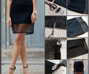 skirt, diy, and Easy image