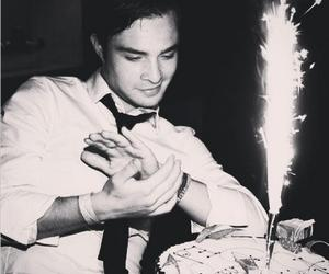 birthday, chuck bass, and cake image