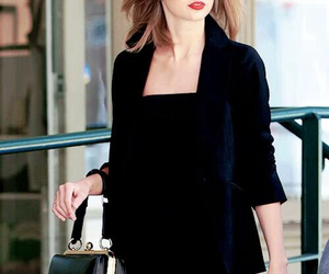 Taylor Swift, style, and black image