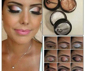 eyeshadow, easy makeup, and how to image