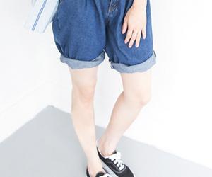asian fashion, womens fashion, and womens shorts image
