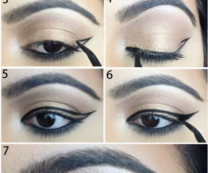 diy, eyeliner, and girls image