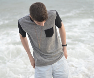 beach, justin johnes, and boy image