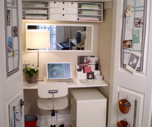 office, room, and closet image