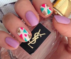 art, nails, and YSL image