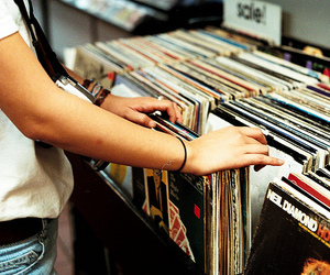 indie, searching, and records image