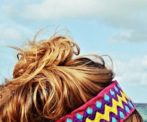 hair, fashion, and summer image