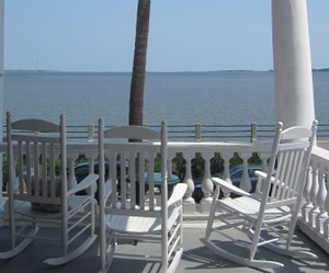 beach house, view, and beautiful image