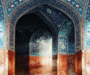 iran, mosque, and spiritual image
