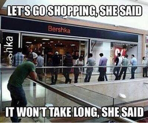 funny, shopping, and lol image