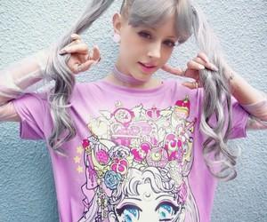 fashion, kawaii, and pastel goth image