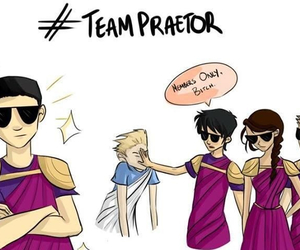 percy jackson, octavian, and heroes of olympus image
