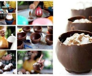 chocolate, diy, and yummy image