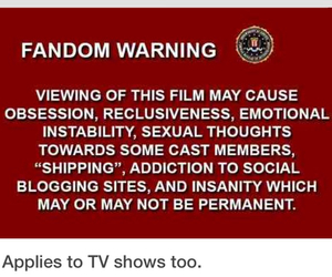 fandom, funny, and tv shows image