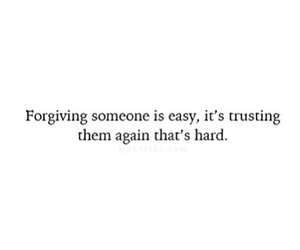 quote, forgive, and trust image