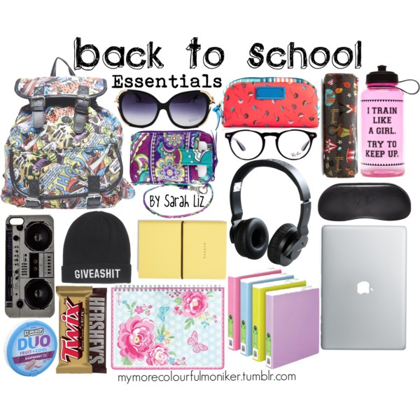 23c19d0e1b6a Back To School  Essentials - Polyvore on We Heart It