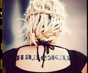 blonde, dreads, and hope image