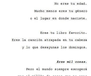book, lo que soy, and song image