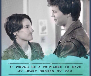 tfios, the fault in our stars, and heart image