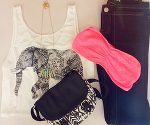 jeans, cool, and elephant image
