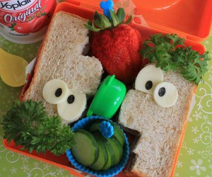 food, ferb, and lunch image