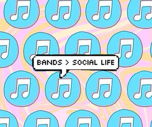 bands, music, and overlays image