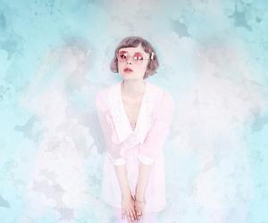 fashion, girl, and pink image
