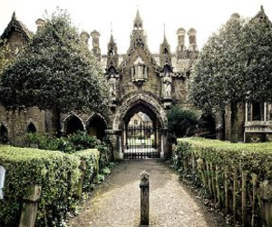 gothic, castle, and london image