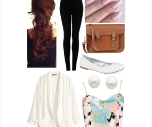 bag, casual, and hair image