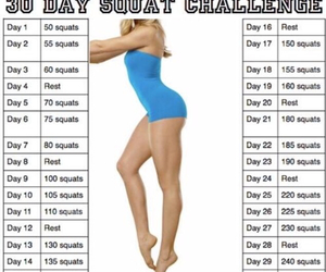 challenge, fitness, and 30 day image