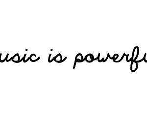 music, power, and Powerful image