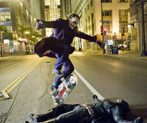 batman, joker, and skate image