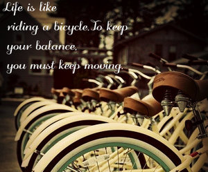 bicycle and life image