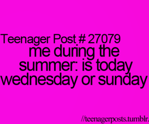 funny, summer, and teenager post image