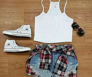 converse, clothes, and summer image
