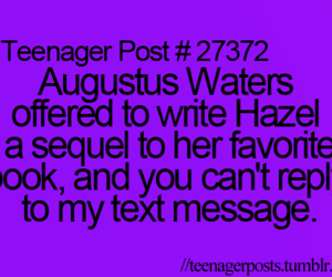 funny, augustus, and tfios image