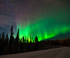 northern lights, aurora boreal, and aurora borealis image