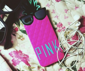 iphone, music, and pink image