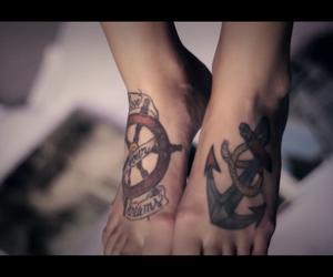 anchor, art, and girly image