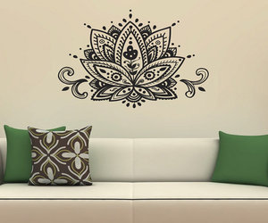 home wall art, wall vinyl decals, and home decor image