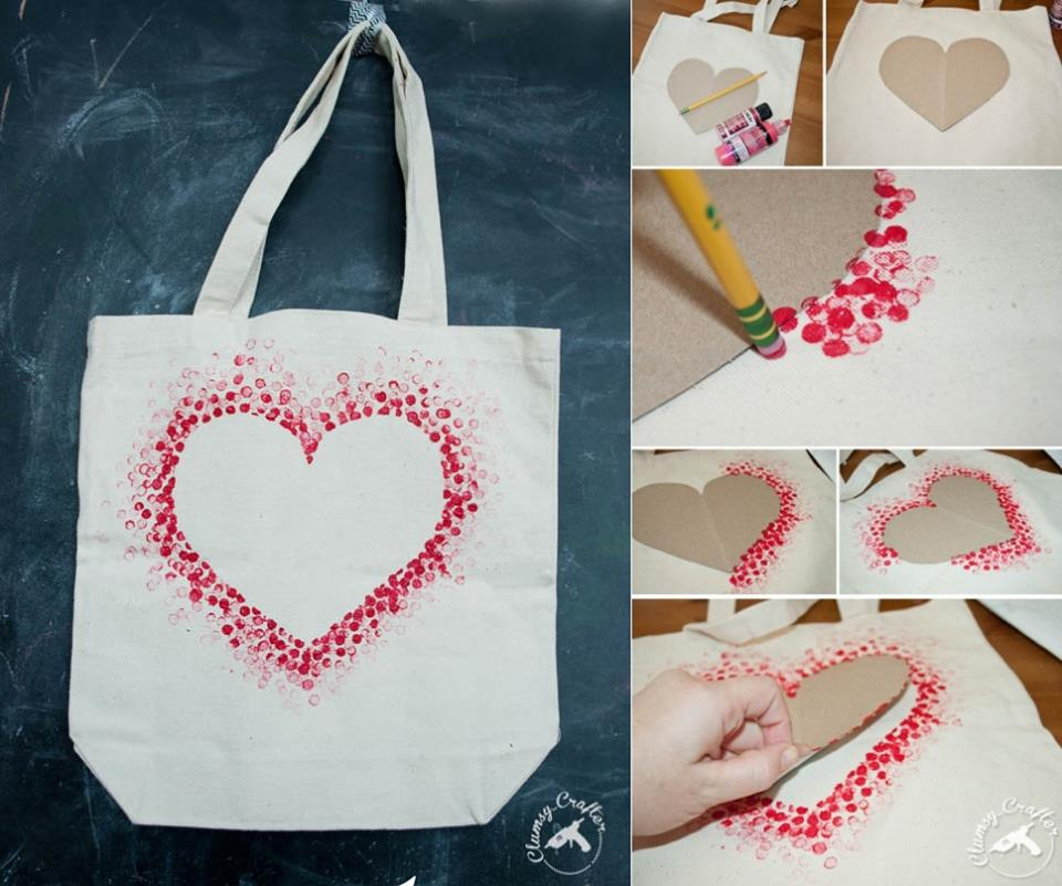 diy, bag, and heart image