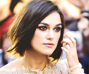 keira knightley, hair, and pretty image