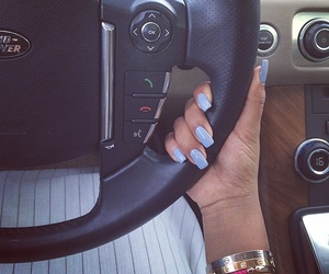 nails, car, and luxury image