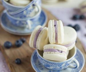sweet, food, and macaroons image