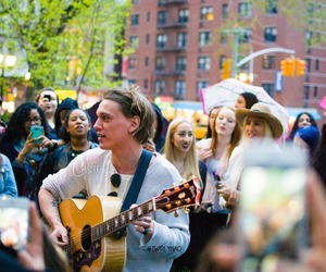 guitar, Hot, and Jamie Campbell Bower image
