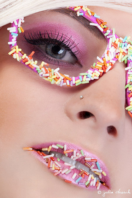candy, fashion, and sprinkles image
