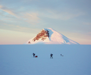 mountains, snow, and travel image