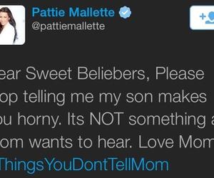 justinbieber, beliebers, and pattie image