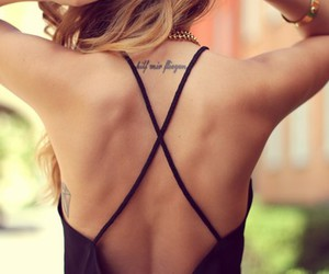 back, black, and flawless image
