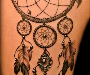 beads, pretty, and dreamcatcher image